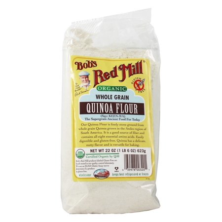 Bob's Red Mill - Gluten Free Organic Quinoa Flour - 22 oz(pack of 1)