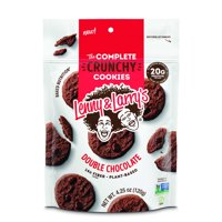 (Price/CASE)Lenny & Larry's Complete Cookie 88200 Double Chocolate Crunchy Cookie 4.25 ounce 12-4.25 ounce