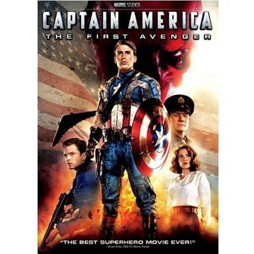 CAPTAIN AMERICA-FIRST AVENGER (DVD)