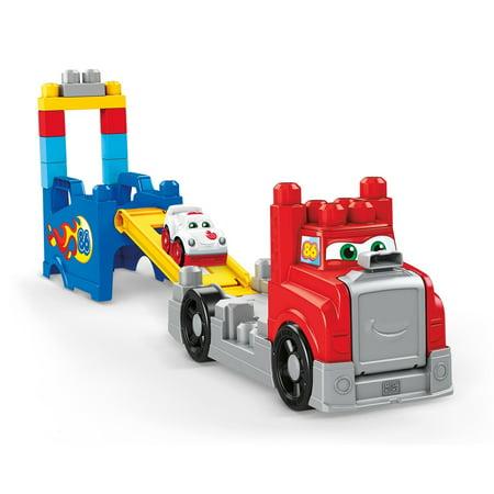 Mega Bloks Build & Race Rig Vehicle Set with 5-Racing Sounds