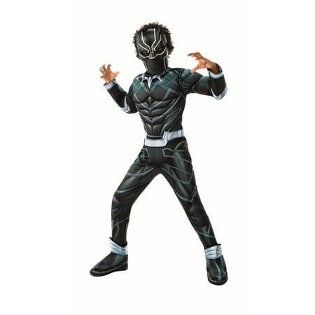 Black Iron Man Halloween Costume (Rubie's Light Up, Black Panther Halloween Costume for)