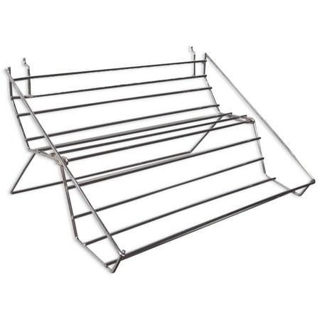 10.5 x 22 Counter Top Metal Display Rack For Jar Items  (ToolUSA: - Jar Countertop