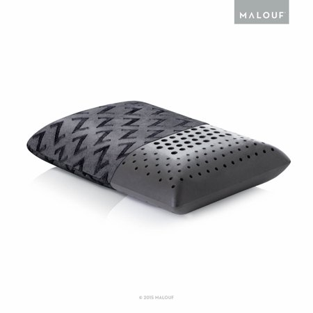 Z Zoned Dough Memory Foam Pillow With Bamboo Charcoal