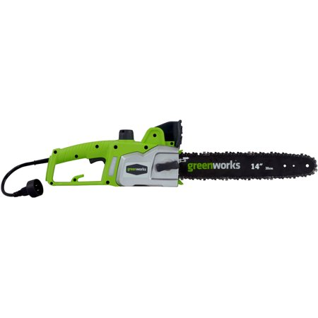 Greenworks 90 amp 14 electric chain saw green walmart greenworks 90 amp 14 electric chain saw green greentooth Image collections