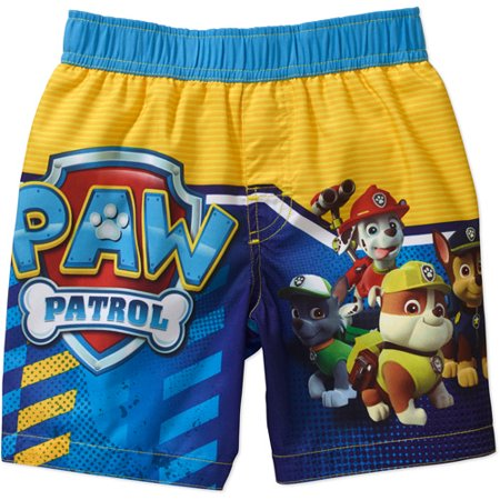 d19a379563 PAW Patrol - Baby Toddler Boy Swim Trunks - Walmart.com