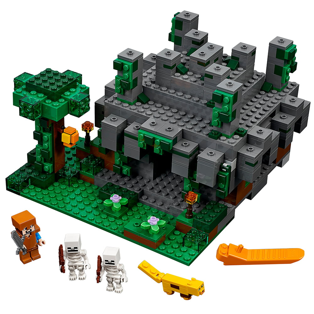 Lego Minecraft The Jungle Temple 21132 by LEGO System Inc