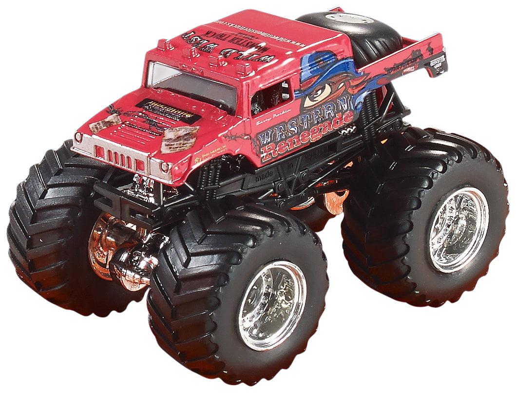 Hot Wheels Monster Jam Brick Wall Breakdown Track Set by Mattel