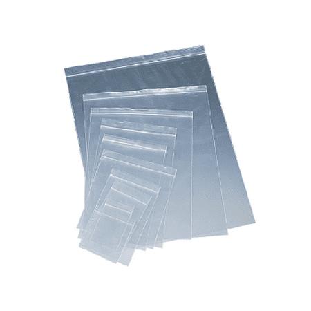 Resealable Zipper Storage Bag 4  X 7  Clear Plastic 2 Mil Zip Lock Closure  100 Pack
