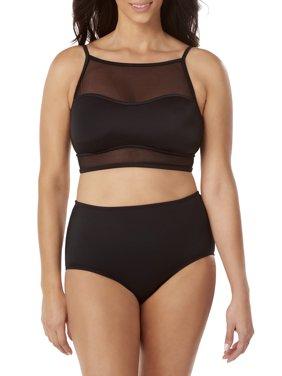 a2d423c706 Product Image Women's Mesh Tankini Crop Top