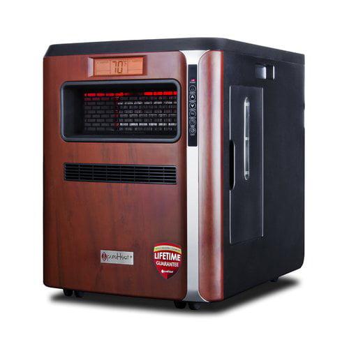 GreenTech Environmental PureHeat 5,200 BTU Portable Electric Infrared Cabinet Heater