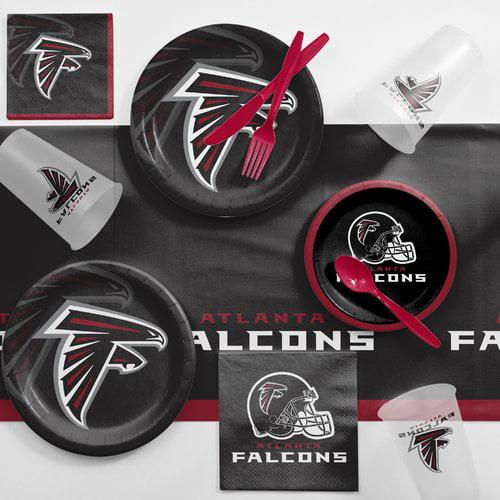 Atlanta Falcons Game Day Party Supplies Kit