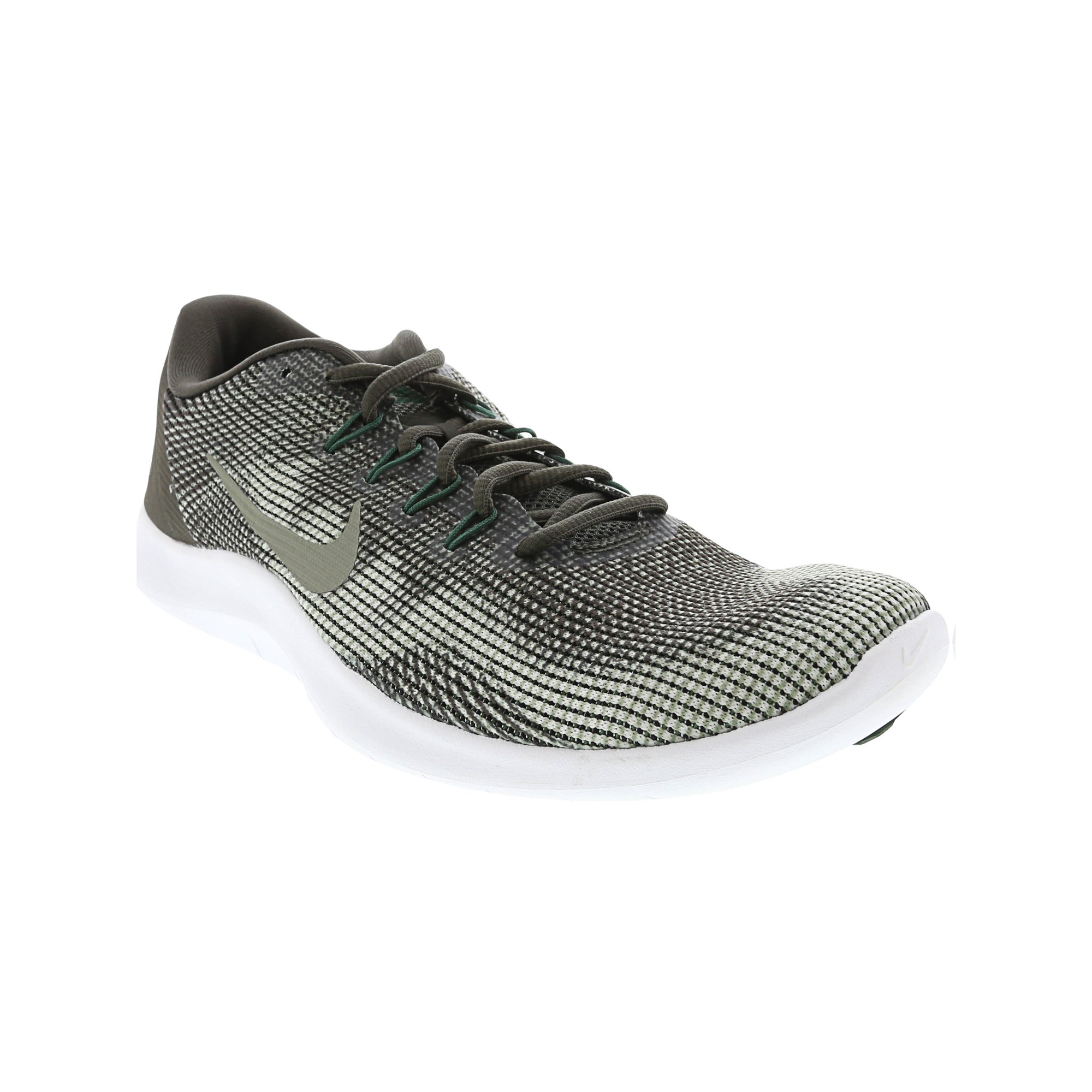 e986d291e6f0d Nike Men s Flex 2018 Rn Midnight Navy   White Ankle-High Mesh Running Shoe  - 10M