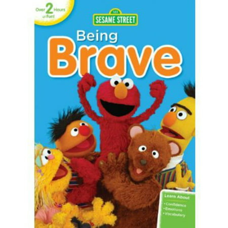Sesame Street: Being Brave (DVD) (Sesame Street Vampire Laugh)