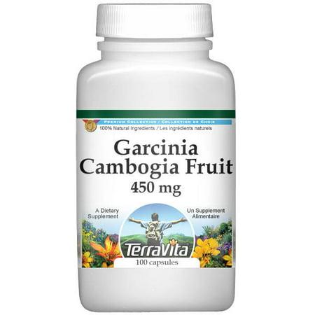 Garcinia Fruit - Garcinia Cambogia Fruit - 450 mg (100 capsules, ZIN: 511774)