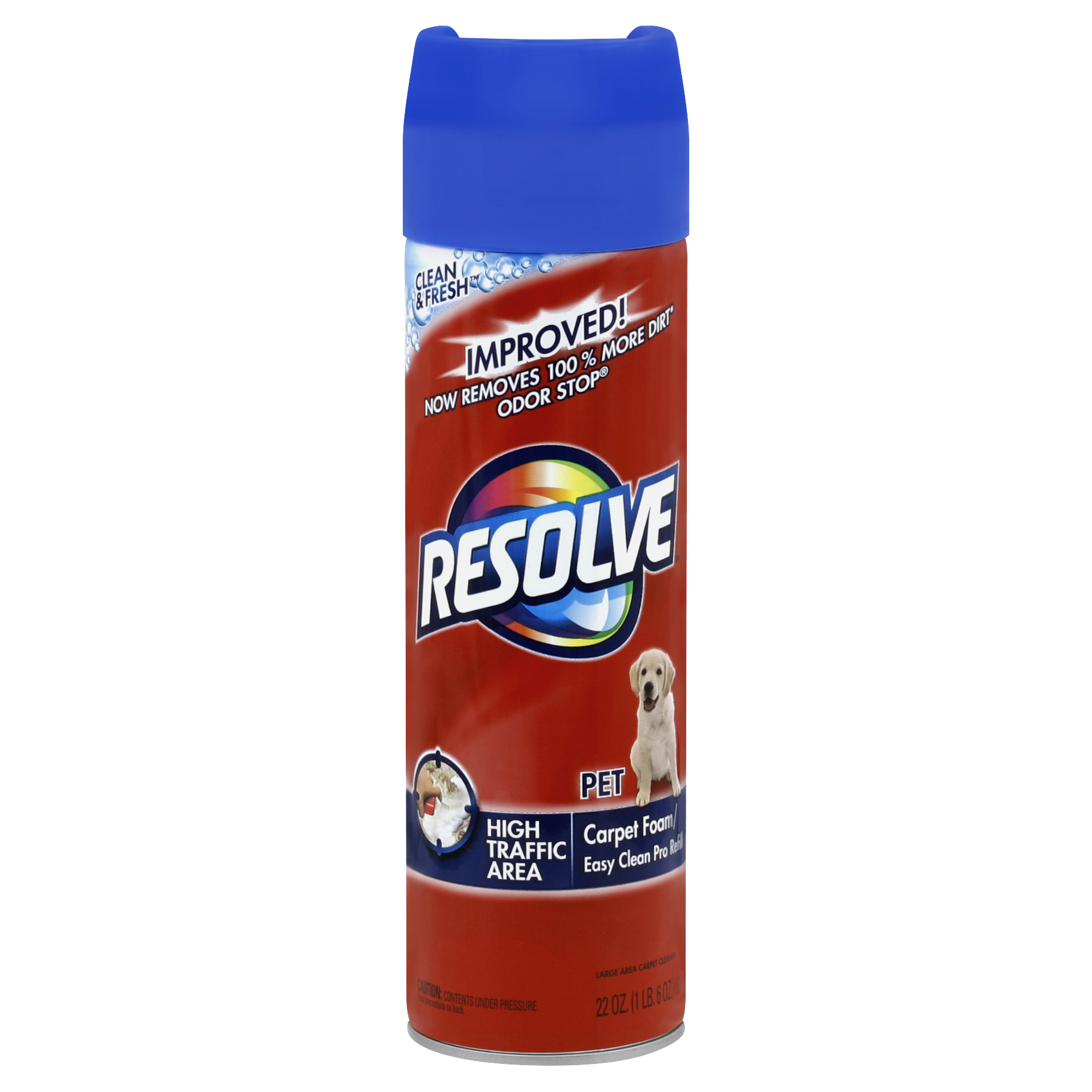 Resolve Pet Formula High Traffic Carpet Cleaner Foam 22 ...