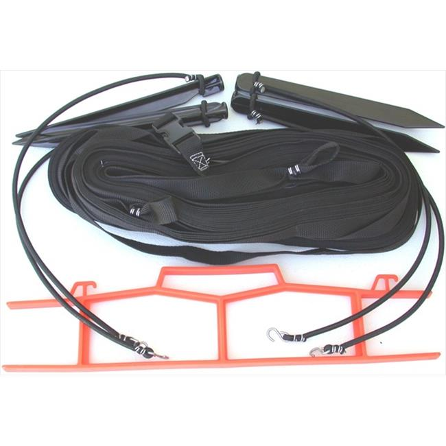 Home Court M8W25BKS 8 Meter Black 1-inch Non-adjustable Web Courtlines