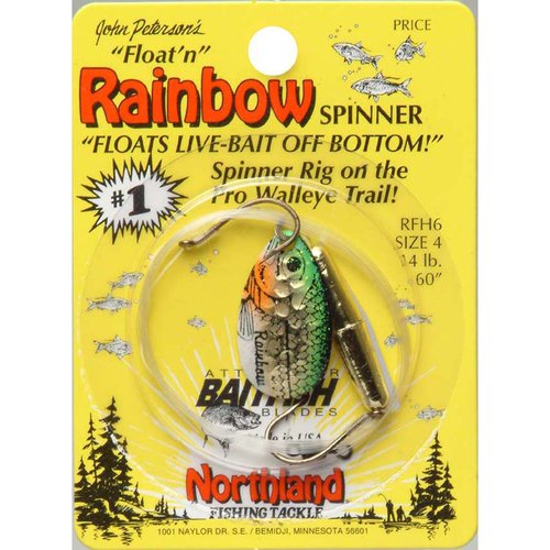 Northland Tackle Baitfish Float'N Spin #4