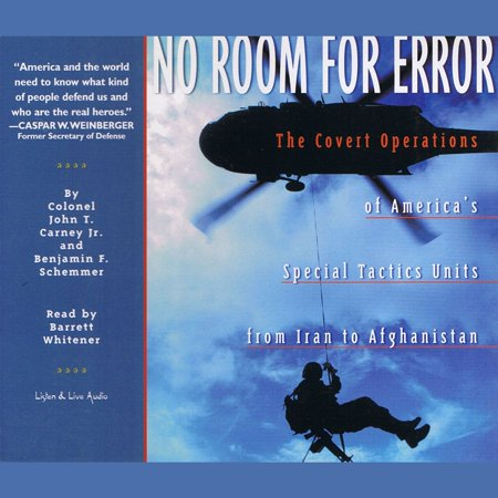 No Room For Error: The Covert Operations of America's Special Tactics Units From Iran to Afghanistan - (Error Synchronizing Folder The Client Operation Failed)