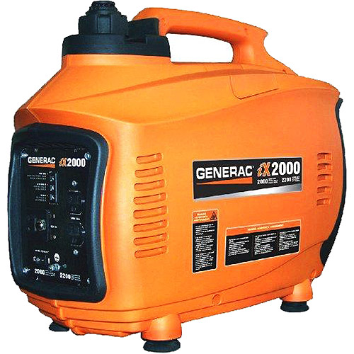 Generac 5793 iX2000, 2,000 Watt Portable Gas Powered Inverter Generator (Non-CARB Compliant)