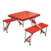 Oniva  Red Folding Table with Seats
