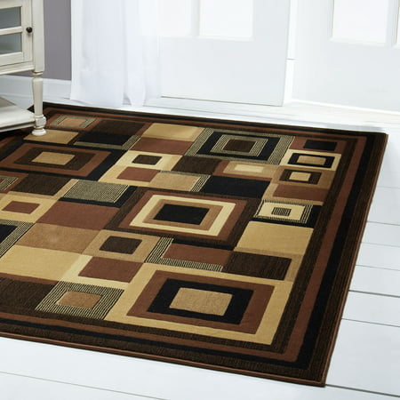 Rugs Modern Abstract Area Rug Contemporary Floral Circles Swirls Cubes Floor Dcor Carpet Floral Contemporary Rug