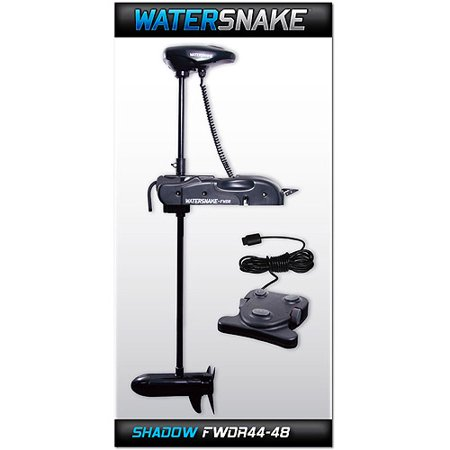 Watersnake shadow trolling motor fw 44 48 bm for Boat motor cover walmart
