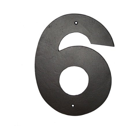 Montague Metal Products 16 in. Helvetica House Number