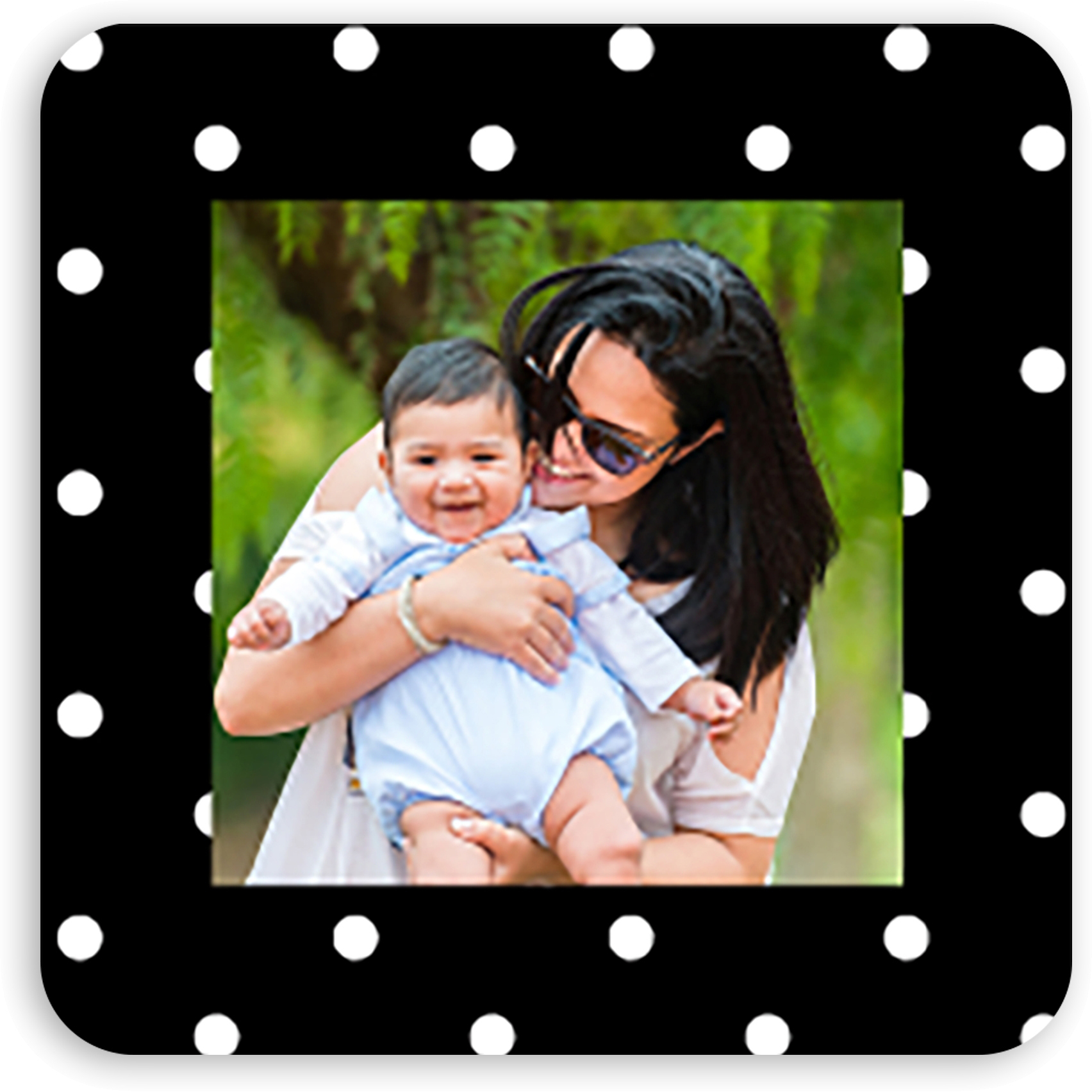 Dotted - Personalized 1.75 x 1.75 Square Seal Sticker