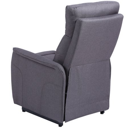 Costway Electric Power Lift Chair Recliner Sofa Fabric