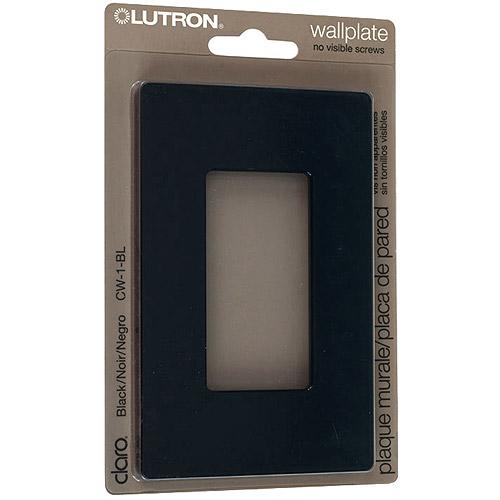 lutron switch plates lutron claro single gang rocker wallplate black wall plates