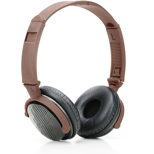 GOgroove AudioLUX WD Wood Over Ear Headphones with Laser Etched Design, In-line...