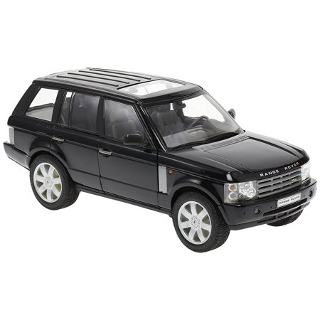 2003 Range Rover Black 1/24 by Welly 22415, Brand new box. Rubber tires. Made of diecast with some plastic parts. Detailed interior, exterior. Dimensions.., By Land - Land Rover Factory