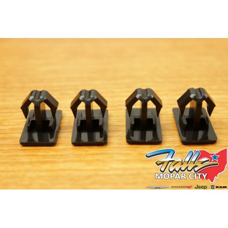 - 2005-2010 Chrysler 300 Dodge Charger Magnum Rocker Molding Clips Set of 4 Mopar