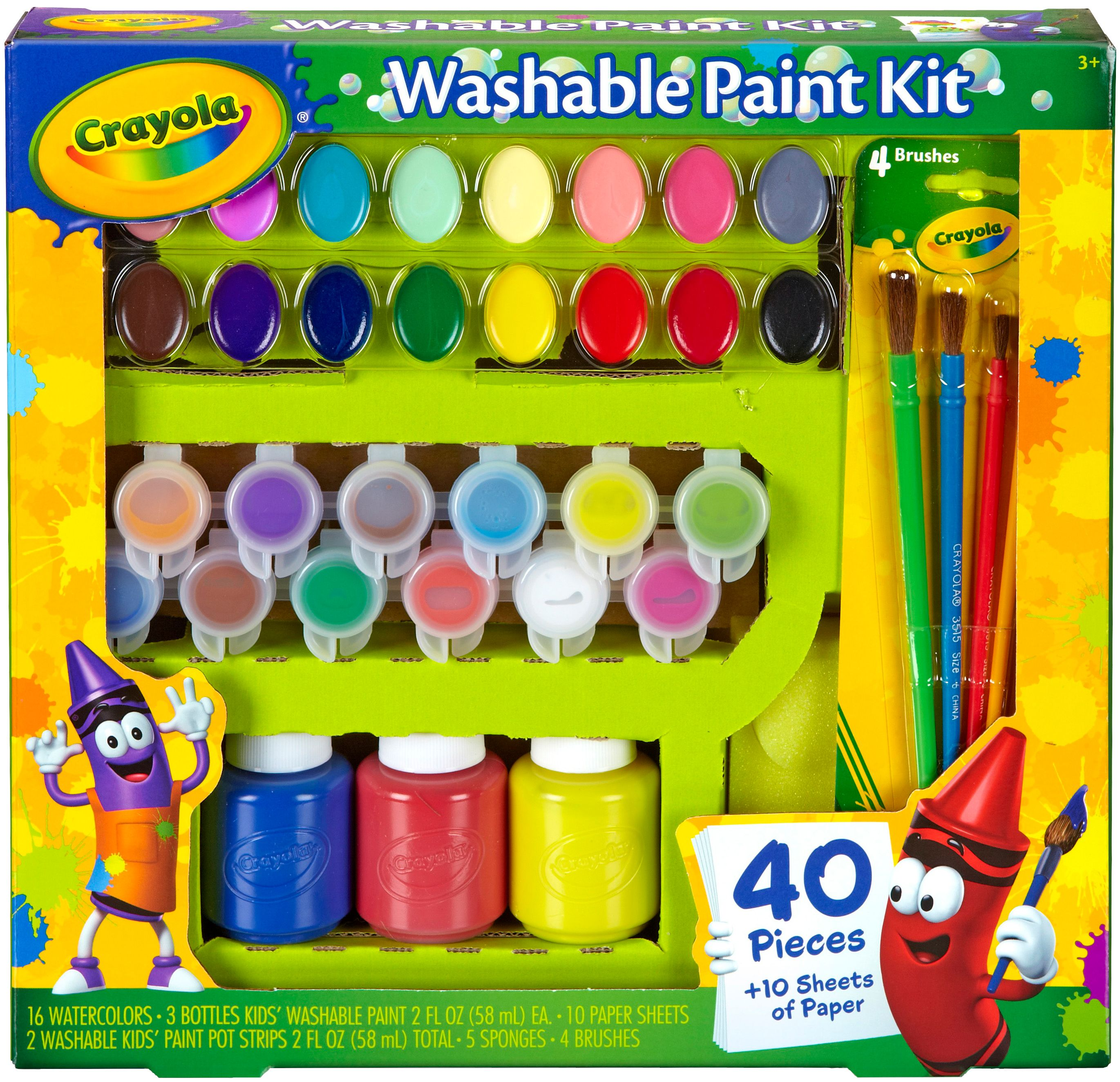Crayola Washable Paint Kit - Walmart.com