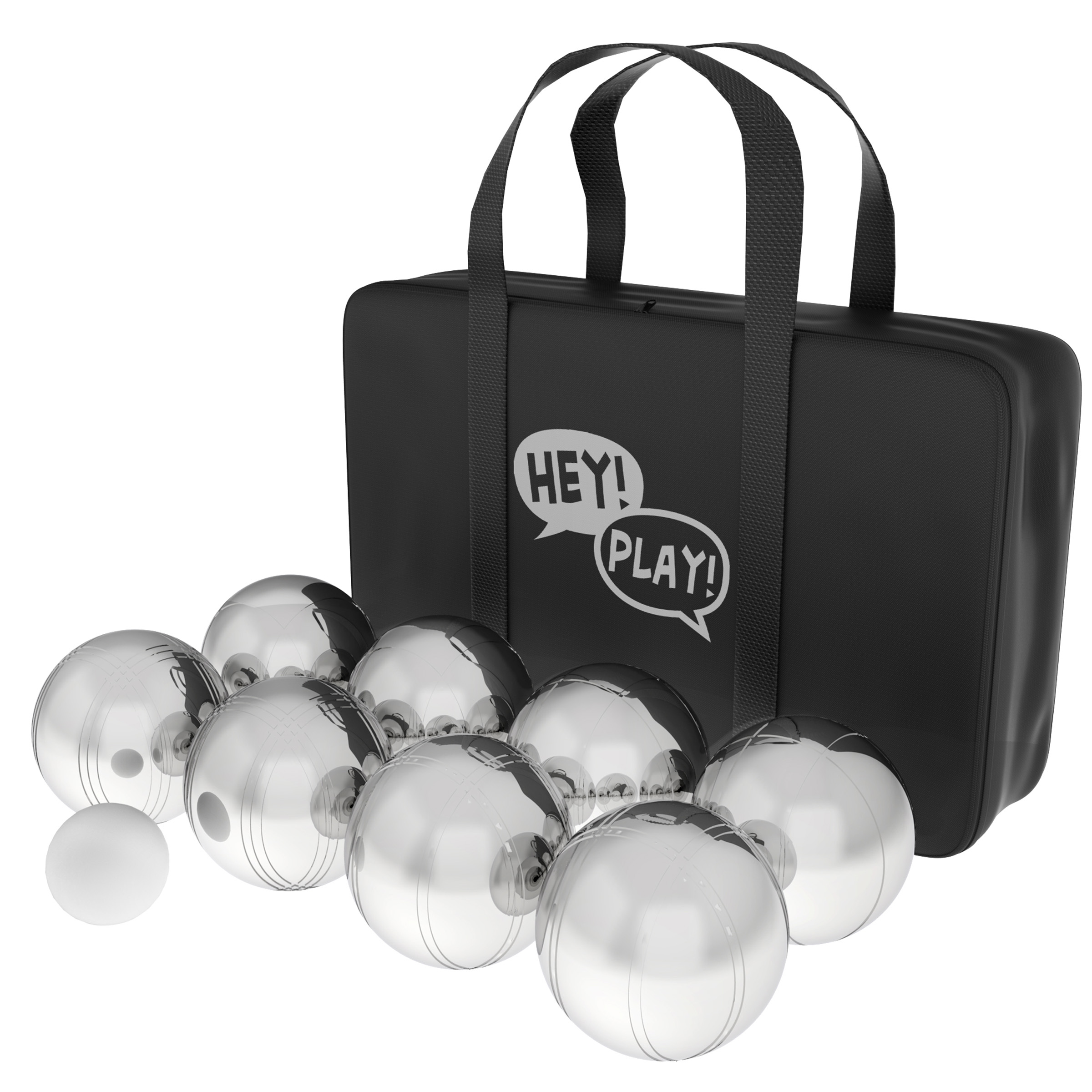Petanque / Boules, Steel Bocce Ball Set by Hey! Play!