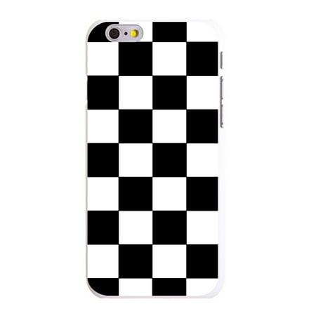 Custom Plastic Cases (CUSTOM White Hard Plastic Snap-On Case for Apple iPhone 6 PLUS / 6S PLUS (5.5