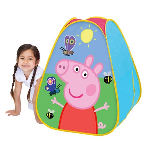 Playhut 61428EO Peppa Pig Classic Hideaway Playhouse, Pink - 28 x 30 x 28 in.
