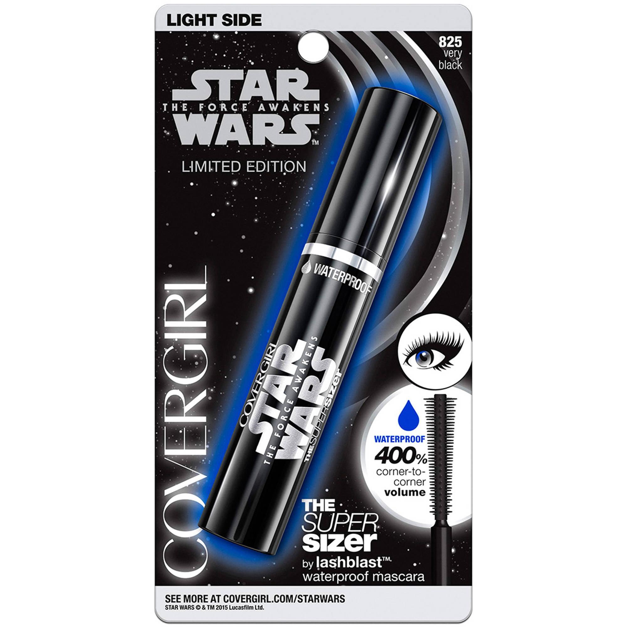 COVERGIRL Star Wars The Super Sizer by lashblast Waterproof Mascara, 825 Very Black, 0.4 fl oz