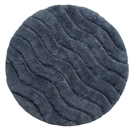 Indulgence 100 Percent Cotton Bath Rug Collection Round