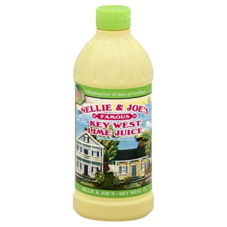 Nellie & joe's famous key west lime juice, 16 fl oz, (pack of (Nellie & Joes Key West Lemon Juice)
