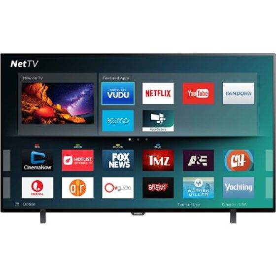 Philips 55PFL5602/F7 55-INCH Class 4K Ultra HD Smart LED ...