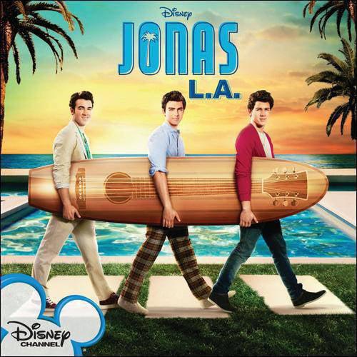 Jonas L.A. Soundtrack (Enhanced CD)
