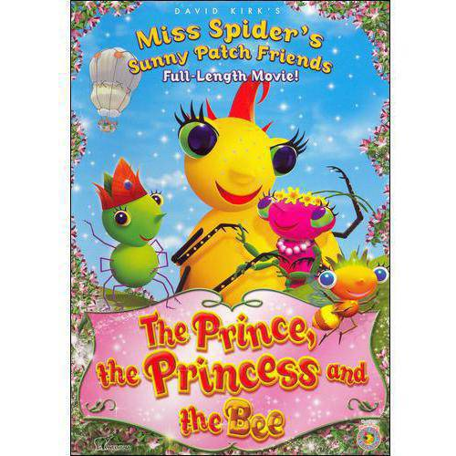 Miss Spider's Sunny Patch Friends: The Prince, The Princess And The Bee (Full Frame)