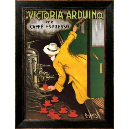 - Victoria Arduino, 1922 Framed Art Print Wall Art  By Leonetto Cappiello - 27x34.5