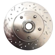 SSBC Performance Brakes 23005AA3L Big Bite Cross Drilled Rotors
