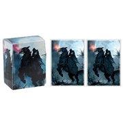 RIDER - 100 GLOSS Finish Sleeves and Deck Box by MAX PRO (fits Magic / MTG, Cards)