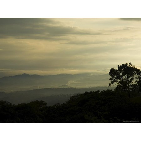 Views Over the Central Valley Near San Jose, Costa Rica, Central America Print Wall Art By R H Productions](Party America San Jose)