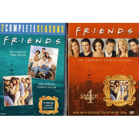 Friends  The Complete Third And Fourth Seasons
