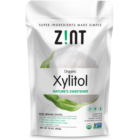 Zint Organic Low-Calorie Xylitol Natural Sweetener, 10.0 Oz (Xylitol Sweet)