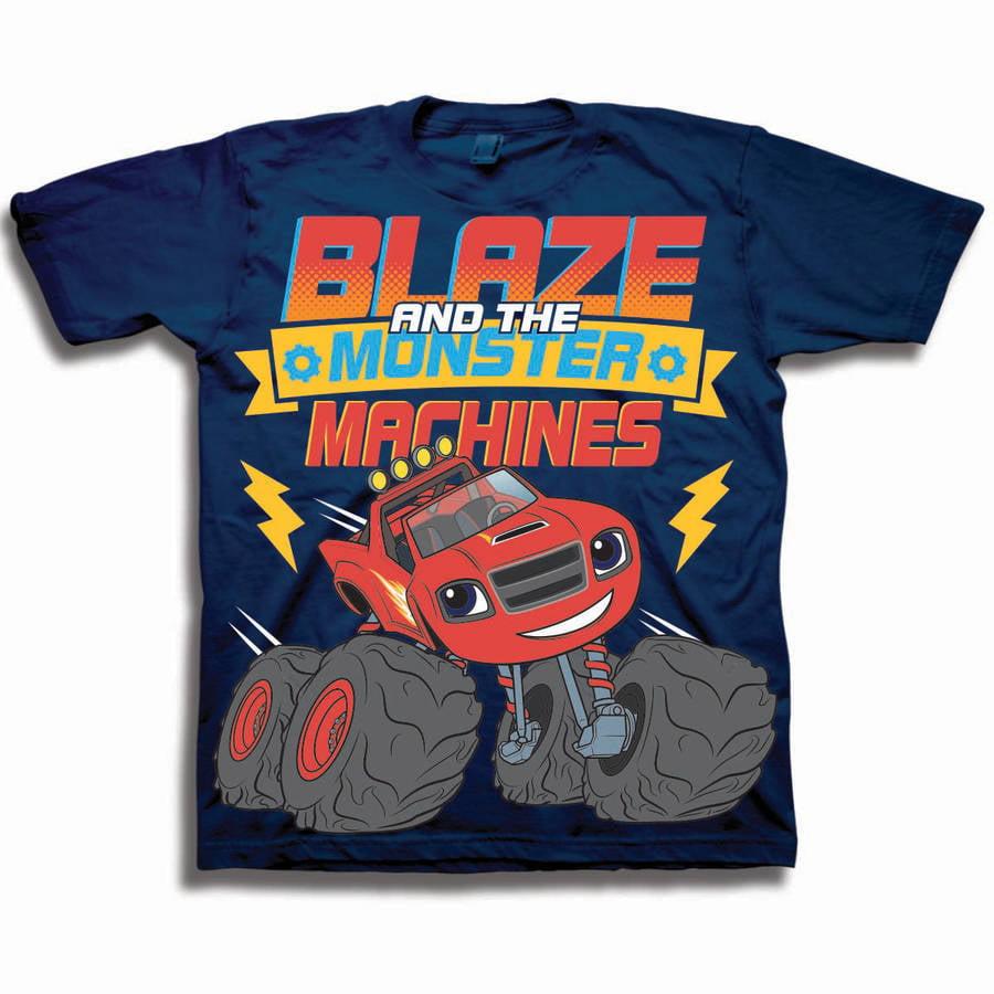 Nickelodeon Blaze & the Monster Machines Toddler Boy Short Sleeve T-Shirt